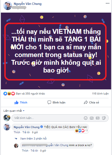 dt viet nam 0-0 dt thai lan, ca showbiz viet day song